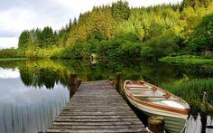spring fishing landscape wallpaper - Google Search
