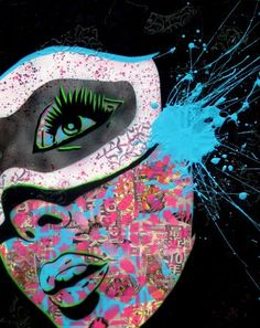 Paper Monster. Really cool stencil graffiti artist. Love him!