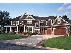 Eplans European House Plan - Five Bedroom European - 4171 Square Feet and 5 Bedrooms(s) from Eplans - House Plan Code HWEPL65700