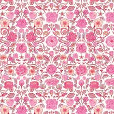 Liberty of London Tana Lawn: Penrose Pink (A)