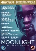 DVD 24503 Title:Moonlight / directed by Barry Jenkins / starring Mahershala Ali, Naomie Harris, Trevante Rhodes