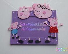 Peppa Pig 02 - Porta retrato