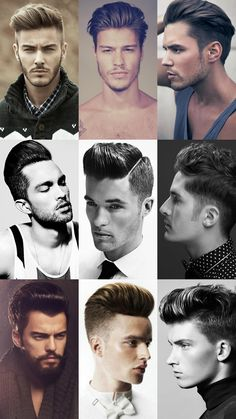 Men's Modern/Extreme Pompadour Hairstyles Lookbook