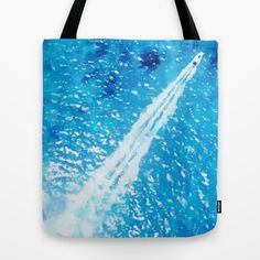 Above the sea Tote Bag by Vadim Cherniy - $22.00