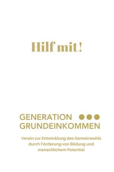 Generation Grundeinkommen - Hilf mit! Research Question, Constitutional Rights, Social Equality