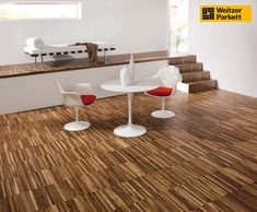 This makes extremely thin strip flooring work! Decorating Tips, Tiles, Flooring, The Originals, House, Furniture, Basement, Rooms, Interiors
