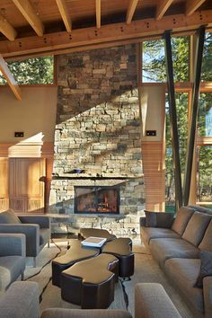 Mazama House in Methow Valley, Washington by Finne Architects via @HomeDSGN