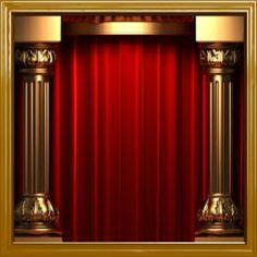 Gold Frames Background For Powerpoint Template Red Background Images, Studio Background Images, Kids Background, Background For Photography, Textured Background, Gold Background, Vector Background, Studio Backdrops, Vinyl Backdrops