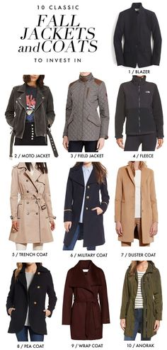 Best Fall Outfits :      Picture    Description  10 classic Fall jackets and coats to invest In during the Nordstrom Anniversary Sale, from an anorak to a trench coat and many in between!: http://www.sarahsarna.com/fall-jackets/    - #Fall https://looks.tn/season/fall/best-fall-outfits-10-classic-fall-jackets-and-coats-to-invest-in-during-the-nordstrom-anniversary-2/