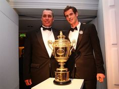 Andy M.  I. Lendl, coach,  The Championships - Wimbledon, England