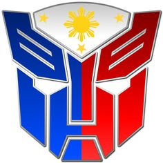 Autobot logo incorporating the Philippine flag Autobots Philippines Images Wallpaper, Asian Wallpaper, Filipino Art, Filipino Tattoos, Philippines Tattoo, Philippines Flag, Baybayin, Beach Drawing, My Sister Birthday
