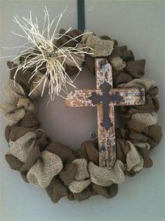 Red-y Made Wreaths - Burlap Wreaths
