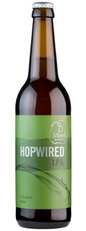 8 Wired - HopWired IPA...:-) :-) :-) :-) :-) :-) We're pretty sure HopWired is the first bottled new world India Pale Ale made with NZ grown pale ale malt and 100% unique NZ hops. We bet you'll find nothing else like it on the shelves. Although there's plenty of malty sweetness, this beer is all about the hops. But unlike an American IPA, which will mainly challenge you with grapefruity and pine-like flavours and aromas, the kiwi hops used in HopWired produce something more like a tropical…