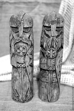Slavic Gods:  Dadzbóg, god of the sun and Light, the giver of all good things.  Perun, god of thunder, a heavenly warrior, a defender against the forces of darkness, the failures of the diseases.
