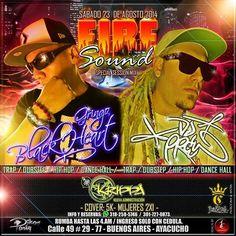#sabado 23 de agosto #firesound @djpree_music @djgringo black heart @krippabar hasta las 4 a.m invita Corona Street Skate Shop @mastojc