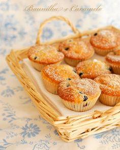 Baunilha e Caramelo: Muffins de Amoras Silvestres