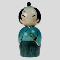 Image detail for -samurai-kokeshi-doll.jpg