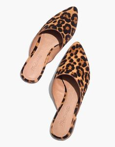 486f2b17a15 The Remi Mule in Leopard Calf Hair