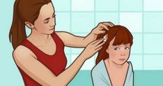 nice Mom Rubs Mayonnaise Into Her Daughter's Hair For A Reason Every Parent Should Know Vicks Vaporub, Mayonnaise, How To Treat Lice, Lice Eggs, Mild Shampoo, Bacterial Infection, Parents, Look Younger, Collagen