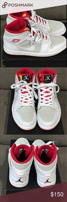 ea12c44a6bf Air Jordan 1 Mid WB (Hare) Clean worn only twice. Jordan Shoes Sneakers