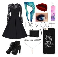 """Daily Outfit"" by blue-beat-2 ❤ liked on Polyvore featuring Wet Seal and Casetify"