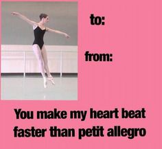 Dance meme ballet...this would make my life as a valentine :)