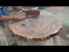 MAPLE TABLE TOP EPOXY RESINA #2 - YouTube