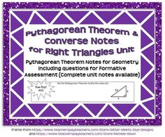 Geometric mean, Special right triangle and Pythagorean ...