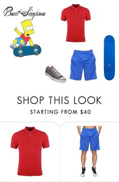 \u0026quot;Bart Simpson in real life\u0026quot; by alexisrenefuentes on Polyvore featuring Polo Ralph Lauren,
