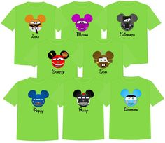 CARS Disney Vacation Group Shirts by TheMouseBoutique on Etsy
