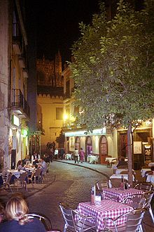 Seville Spain. I remember they had oranges here and we picked em