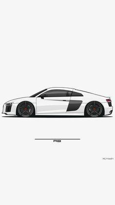 Car Animation, Cool Car Drawings, Sports Car Wallpaper, Street Racing Cars, Best Classic Cars, Car Illustration, Futuristic Cars, Car Posters, Car Wallpapers