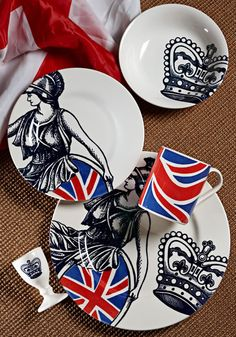 britannia...love these, I have the plates & a tea set with the crowns on them, would love to add more!