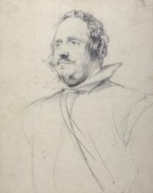 ) Black chalk 9 × 7 in. The Duke of Devonshire and the Trustees of the Chatsworth Settlement, Chatsworth, Derbyshire Anthony Van Dyck, Sir Anthony, Pen Sketch, Sketches, Duke Of Devonshire, Academic Art, Peter Paul Rubens, Chalk Drawings, Historical Art