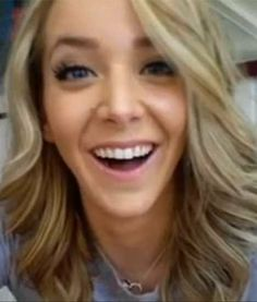 Jenna Marbles! I can't decide if she's freaking hilarious or freaking annoying. Love her!