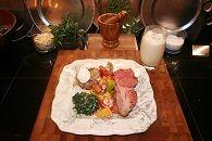 Christmas Dinner Bone In Prime Rib Roast