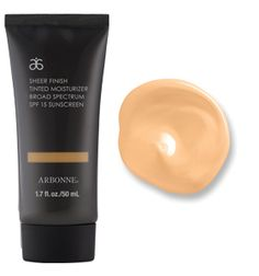 Sheer Finish Tinted Moisturizer Broad Spectrum SPF 15 Sunscreen, Fair from Arbonne