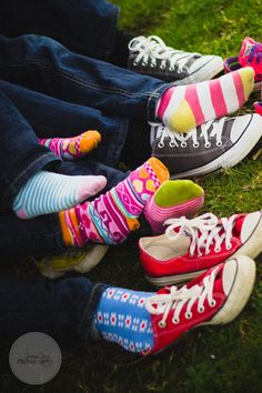 Mismatched socks and converse! Newcastle family photographer - AnnaJoy Photography
