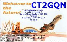 eQSL From CT2GQN
