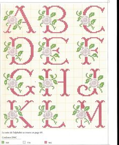 Filomena Crochet e Outros Lavores: alfabeto