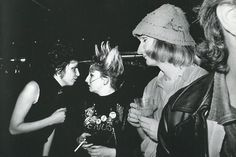 superblackmarket:  Chrissie Hynde, Jordan, and Jayne County at the 100 Club photographed by Jill Furmanovsky, 1977