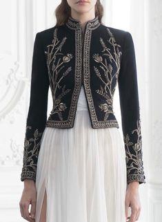 "chandelyer: "" Paolo Sebastian couture details part 2 "" Indian Fashion, High Fashion, Womens Fashion, Paolo Sebastian, Fantasy Dress, Couture Details, Party Wear Dresses, Mode Inspiration, Mode Style"
