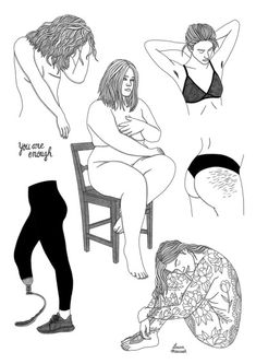 Sad Drawings, Dark Art Drawings, Art Drawings Sketches, Dark Art Illustrations, Art Et Illustration, Art Triste, Art Du Croquis, Psychedelic Drawings, Creation Art