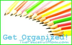 Get Organized: Paper Clutter Solutions