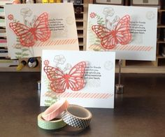 Butterfly Bundle - Butterfly Basics and the Butterflies Thinlits Dies