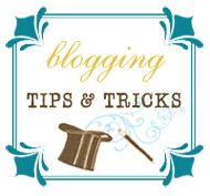 Blogging Tips, Tricks, Hacks, and How-Tos      BLOGGING FOR NEWBIES:  New to blogging and need a few tips? We recommend visiting here first:  Finding your way in the blogosphere (a step by step guide to blogging)  Includes the following instructions:
