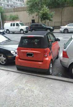 interesting parking job