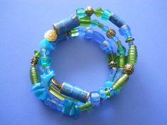 Turquoise Wrapped Bracelet