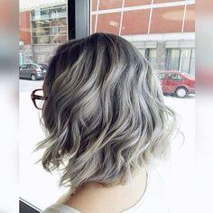 Silver Blonde Tresses