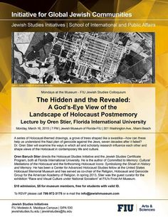 Anthropology of Religion | Events | Lecture Series | The Jewish Museum of Florida | March 16, 2015